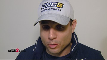 'It's Big.' UNCG Head Coach Wes Miller on road win against Georgetown