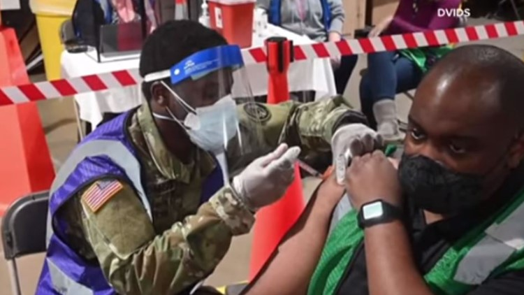 National Guard playing a big role in COVID-19 vaccinations
