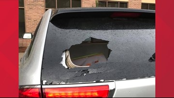 'Debris Was Flying All Around': NC Woman's Rear Windshield Smashed While Driving in Greensboro