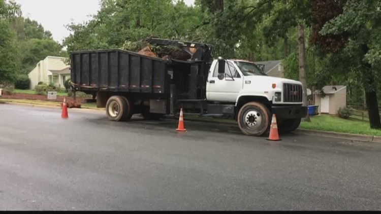 Triad Communities Continue the Cleanup After a Long Week of Storms