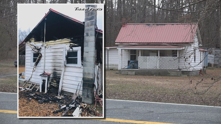 Elderly NC couple loses home in fire one day after burying son
