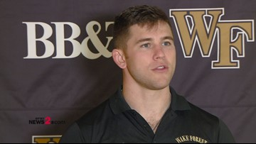 Interview With Wake Forest RB Cade Carney Ahead Of Saturday's Game vs. Florida State