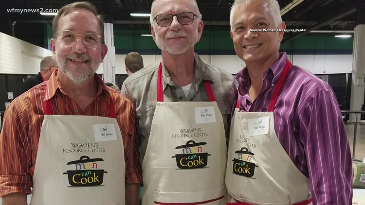 'Men Can Cook' fundraising event returns to the Triad
