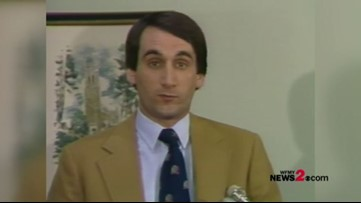 RAW: Duke's Coach K hired on this day in 1980!