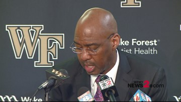 'Whenever you play one of the Big Four Schools, you want to get that win': Wake Forest's Danny Manning after win over UNC