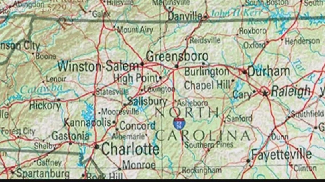 What S In A Name History Behind North Carolina City Names Wfmynews2 Com