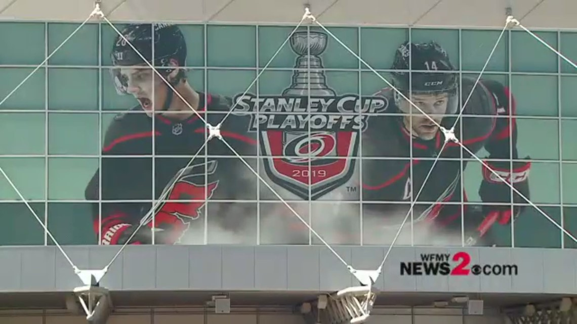 Hurricanes Fans Get Ready For First Playoff Game In Raleigh