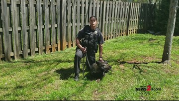 Happy 10 Years, 2 The Rescue - From Greensboro Police K9 Unit