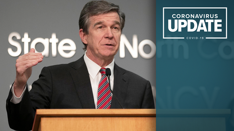 Gov. Roy Cooper gives COVID-19 update