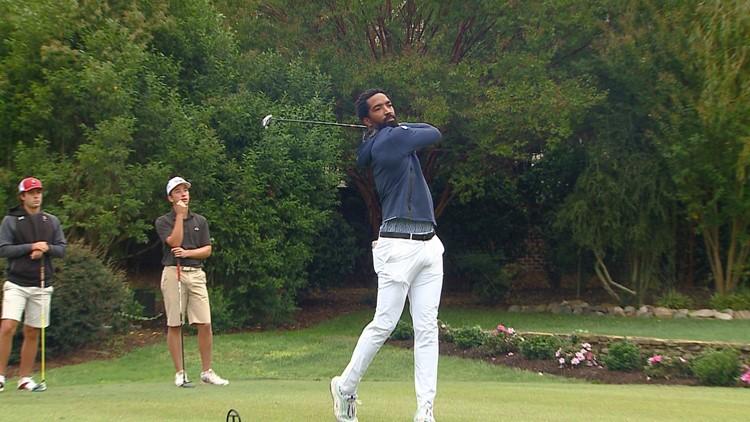 Ex-NBA guard J.R. Smith makes tournament debut as college golfer
