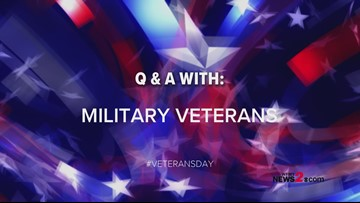 Veterans Share Their Advice, Memories And Reasons For Serving