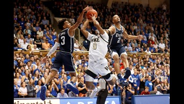 Duke crushes Wake Forest by 31 points