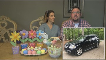 'It Was Like The Grinch, But Instead Stealing Easter Morning' High Point Car With Five Easter Baskets In It Stolen From Family