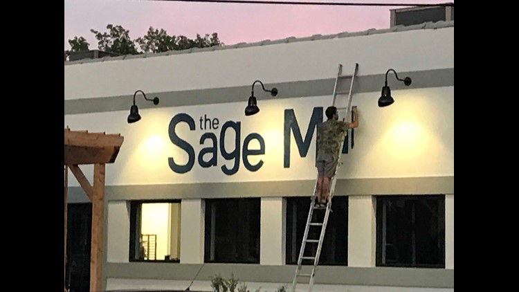 The Sage Mule restaurant in downtown Greensboro