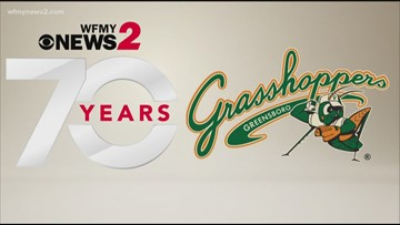 Celebrate News 2's 70th Birthday With The Greensboro Grasshoppers