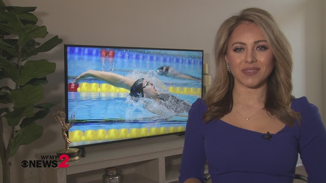 Local swimmer's Olympic hopes set back by a year