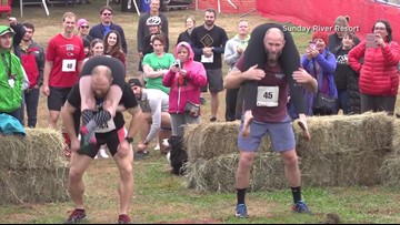 Beer and Cash for the Win: 2019 Wife Carrying Championships