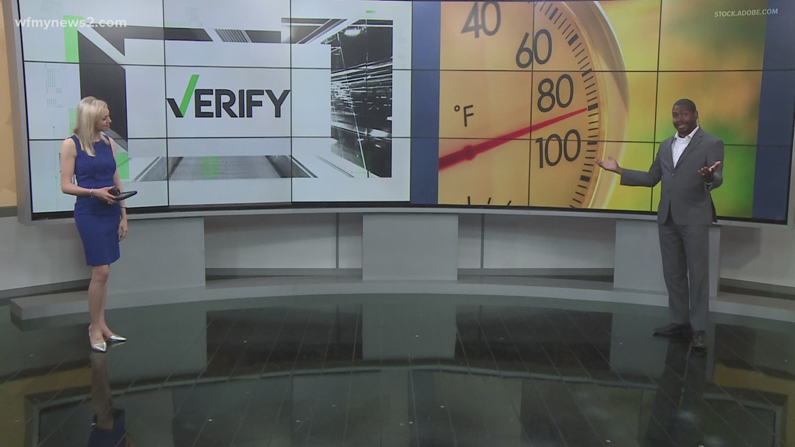 VERIFY: Too hot? It's actually common to hit 90 in May