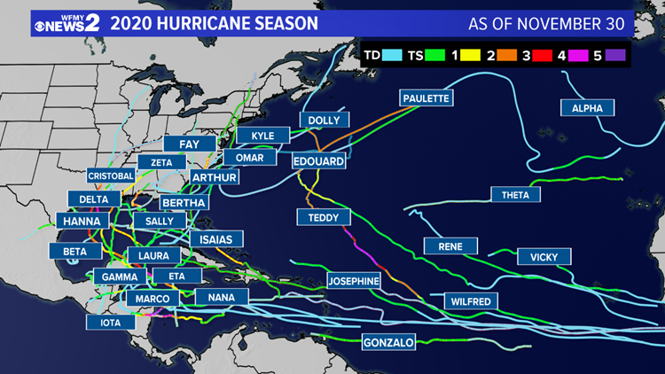 'We ran out of names,' Record-breaking hurricane season comes to an end