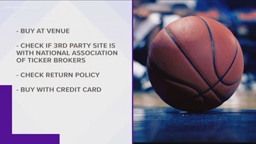 Avoid fake tickets for the ACC tournament
