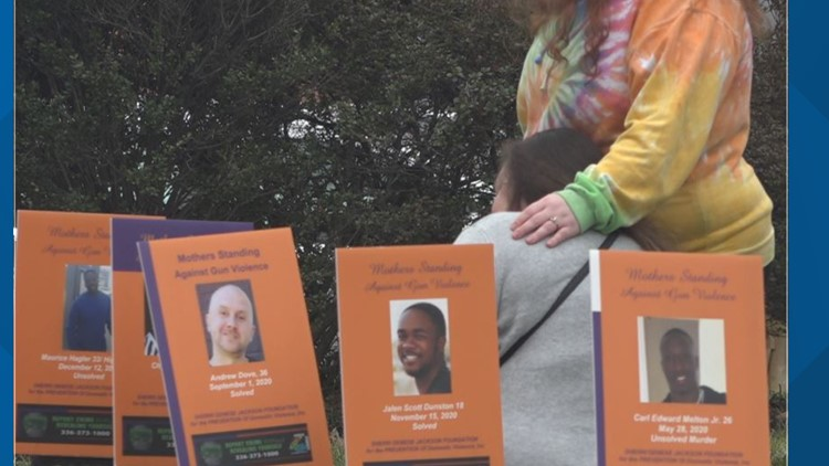 'They didn't deserve this'   Greensboro mothers rally against gun violence