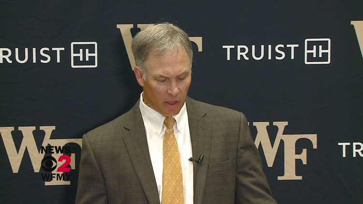 Talking Football with Wake Forest Head Coach Dave Clawson ahead of Friday's matchup vs. Virginia