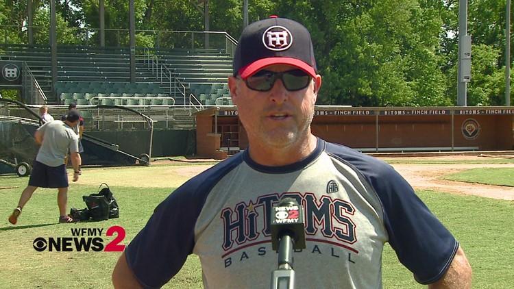 Talking baseball with High Point-Thomasville HiToms Manager Scott Davis