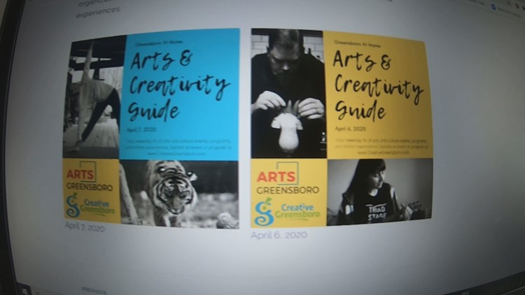 Four 2 Five: City of Greensboro debuts daily arts and culture digest