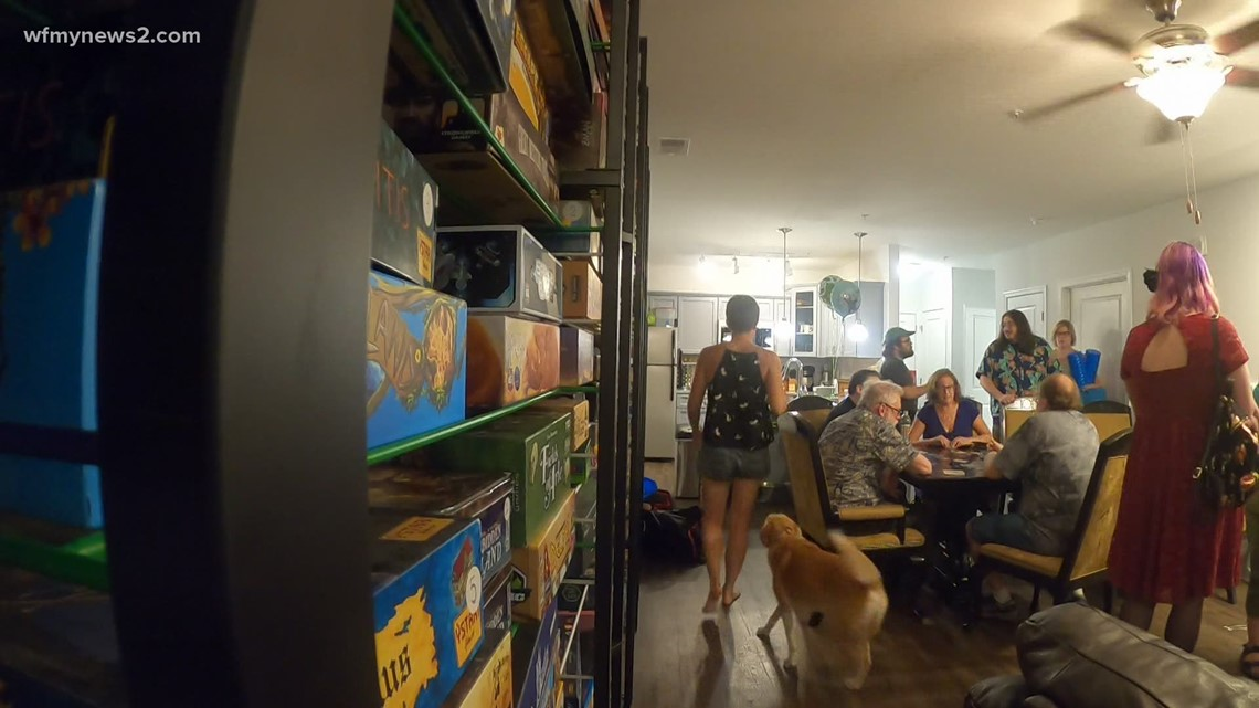 Greensboro board gaming club reunites after over a year without getting together