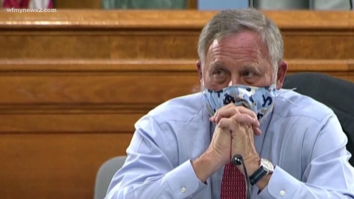 North Carolina Republican Party votes to censure Senator Richard Burr