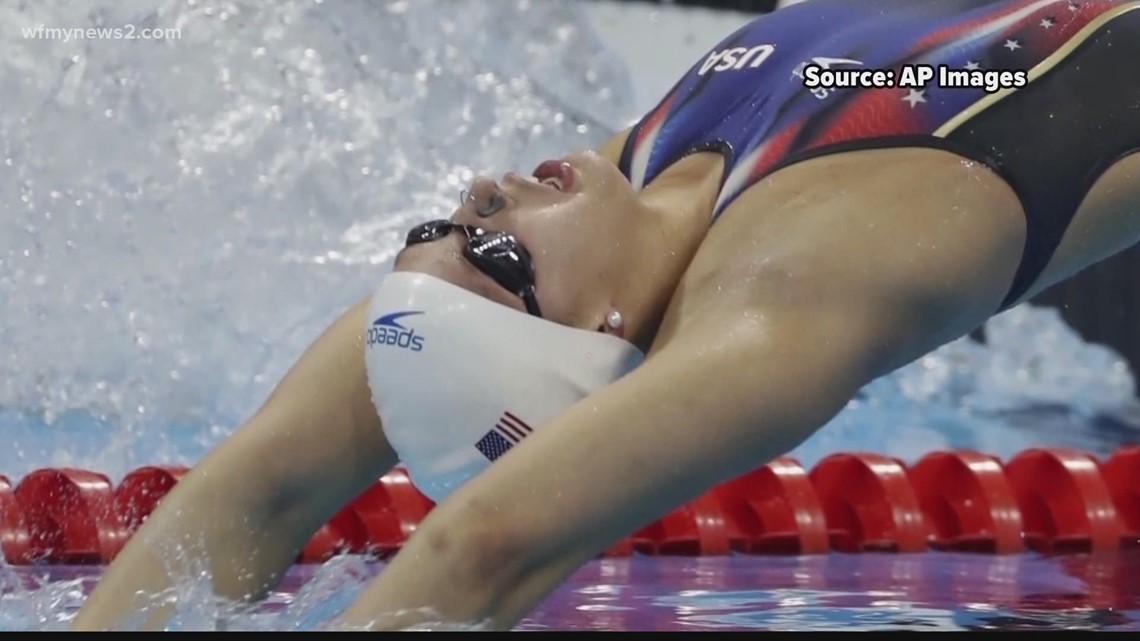 Winston-Salem native and Olympic swimmer Kathleen Baker starts preparing for the 2021 Olympics
