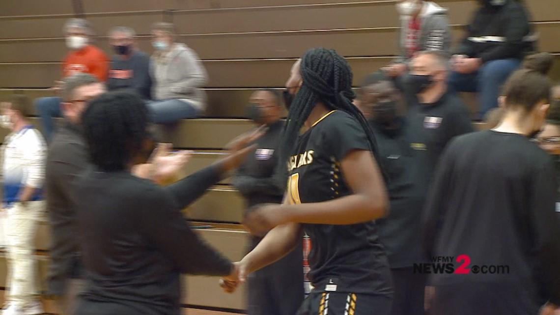 NCHSAA Girls Basketball Playoffs:  Farmville Central vs. Randleman
