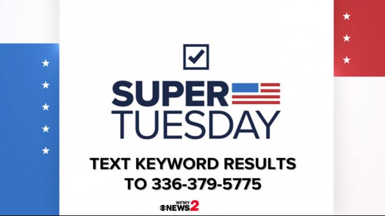 NC Primary | How to text to get election results and where to watch live political coverage