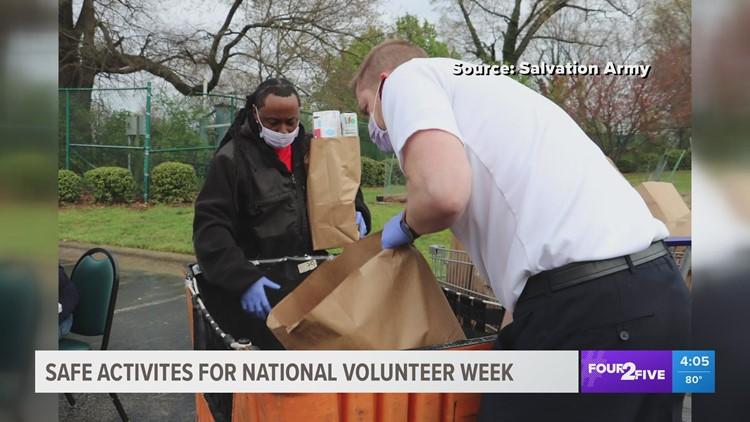 United Way encourages safe volunteerism for National Volunteer Week