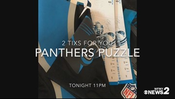 Solve the Panthers Puzzle For a Chance to See Big Cats Square Up on the Saints