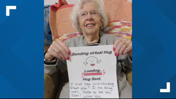 Residents at NC senior living community have creative ways of showing love