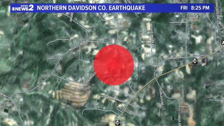 Northern Davidson Quake
