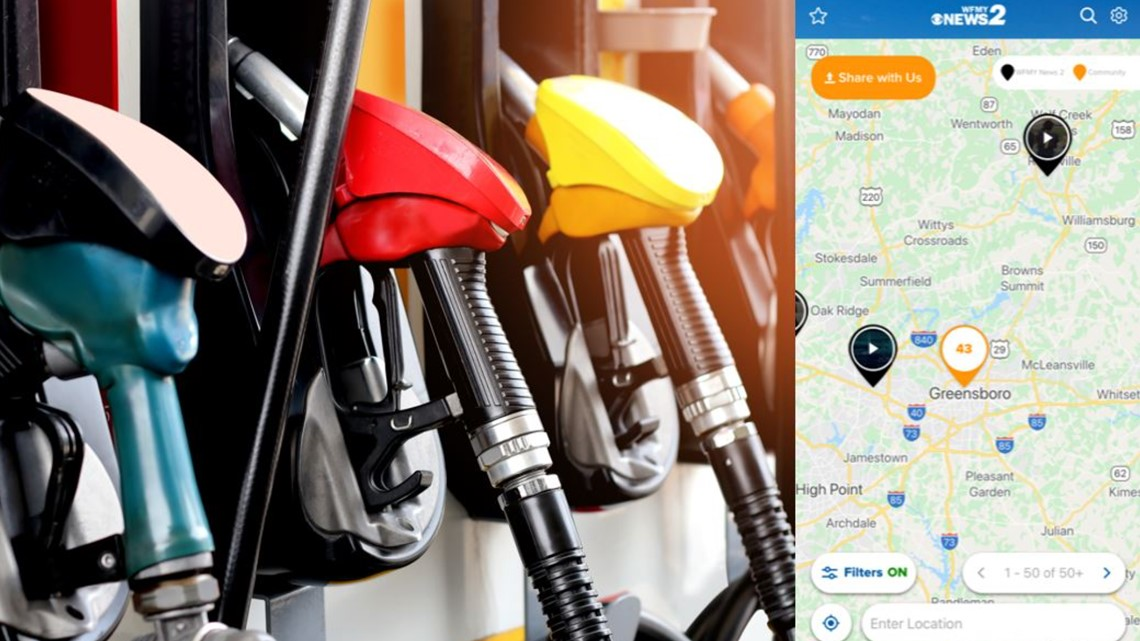 Which gas stations have fuel? Report it using 'NEAR ME' or find places to fuel up