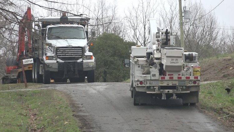 Clean up continues after tornado in High Point