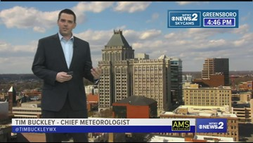 Tim Buckley's Friday Evening Weather Forecast