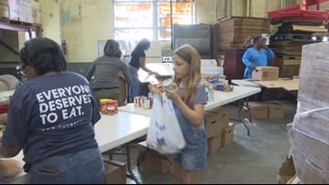 Winston-Salem Salvation Army Packs Meals to 'Stop Summer Hunger'