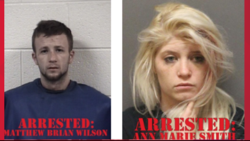 Man and woman arrested for shooting into an occupied vehicle, Deputies say