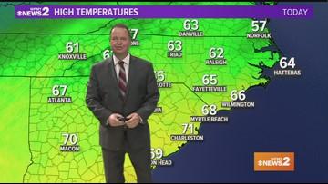 Ed Matthews' Mid Monday Morning Forecast