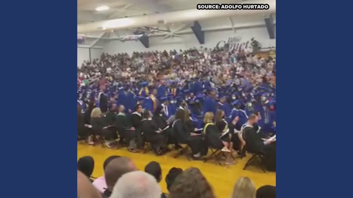 RAW: Graduating Asheboro High student says he was denied his diploma because of a Mexican flag
