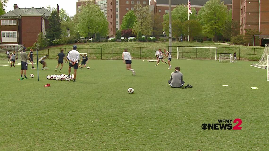 UNCG Men's Soccer team set for SoCon Tournament Championship matchup vs. Belmont