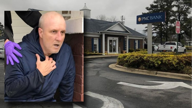 Accused NC Bank Robber Caught in SC After Being Released