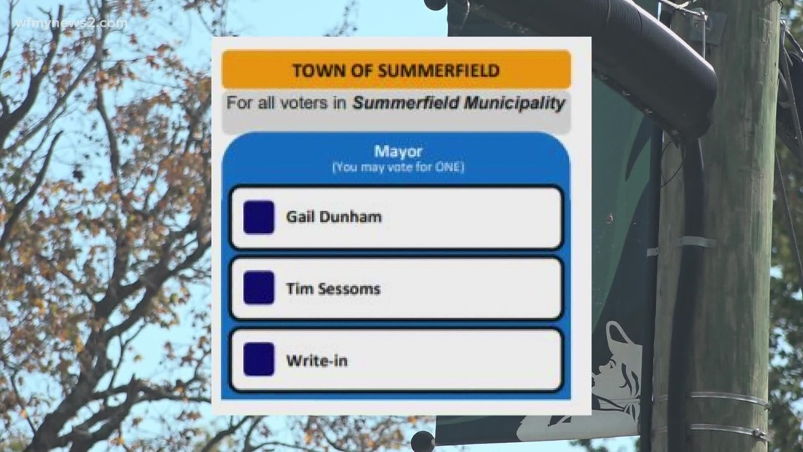 Summerfield municipal election has town divided over issues.
