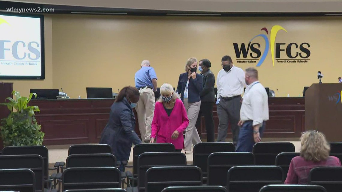 Winston-Salem/Forsyth County Schools teachers and parents discuss plans to keep students safe
