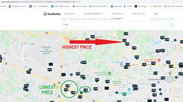 'Gas prices are at a 7-year high in Greensboro, NC and much of the nation': GasBuddy explains why