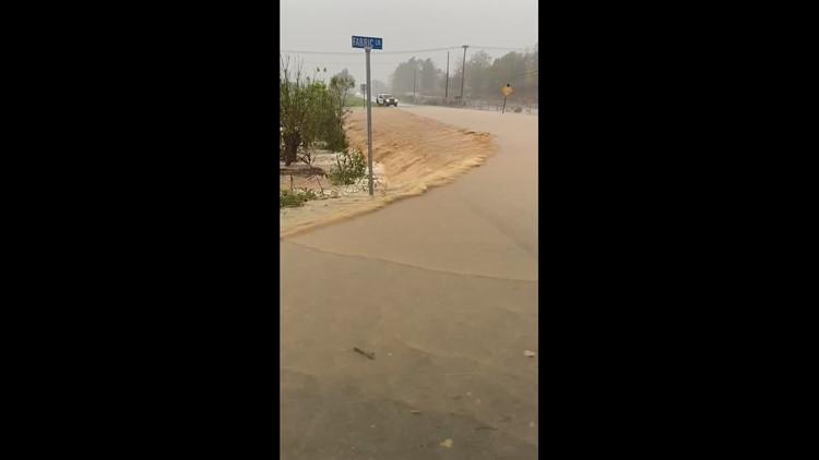 Zeta brings flooding to Elkin